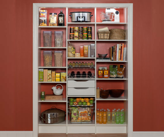 Kitchen Pantry Storage Solutions: Custom Pantry Cabinets And Designs