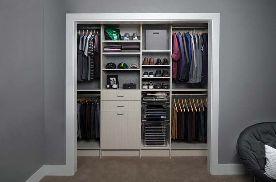 When It Comes To Customizing Your Custom Reach In Closet In Austin, TX, The  Options Are Endless!