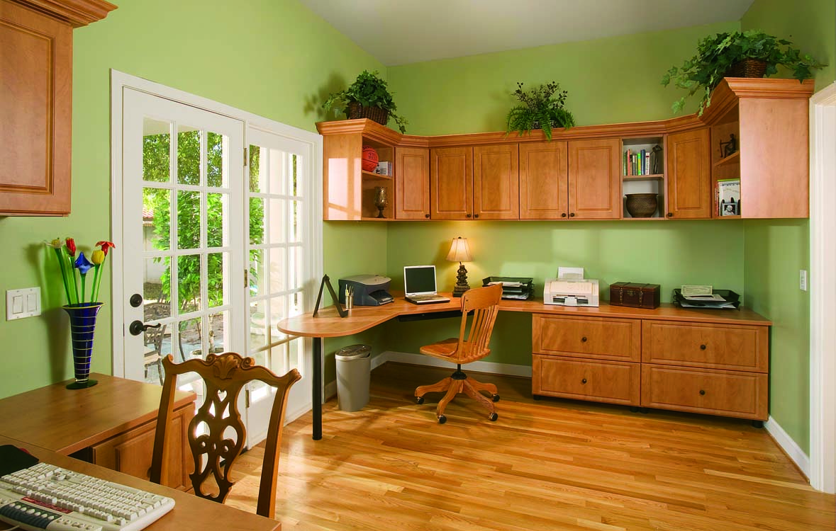 Custom Home Office Cabinets & Designs | Austin Closet Solutions
