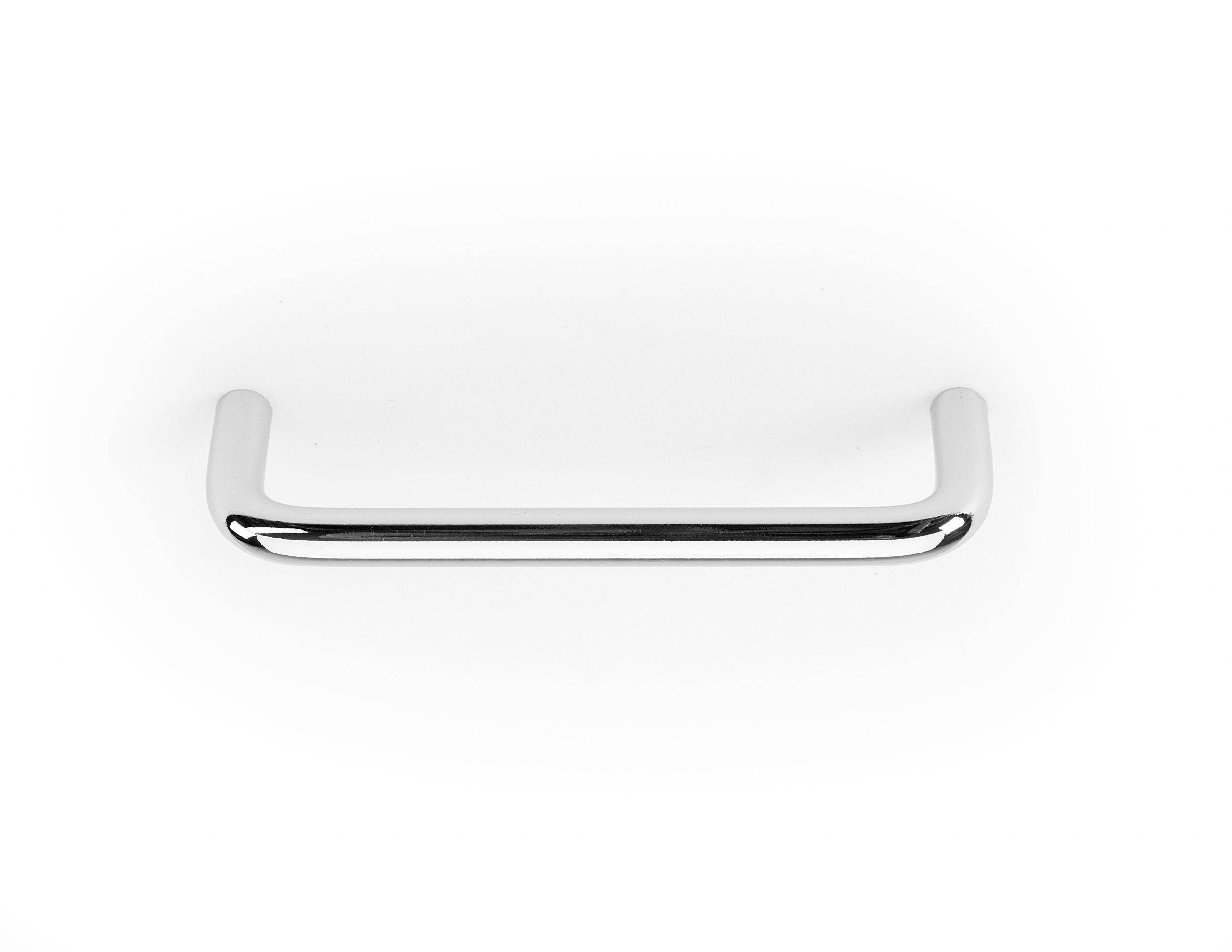 96mm Handle - Straight - Chrome